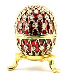 Fabergé-Ei mit Kristallen