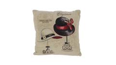 Vintage Kissen Damenhut