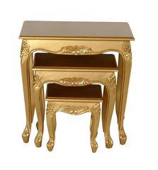 Queen Anne Teetischset gold