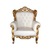 Kings Barocksessel Grande gold/weiss