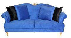 Sofa Paris Grande royalblau