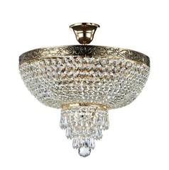 Kristall Kronleuchter D 400 gold