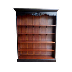 Louis Bookcase Mahagoni