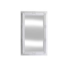 Spiegel weiss mit Facettenschliff 120 x 200cm