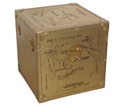 Vintage Goldbox mittel