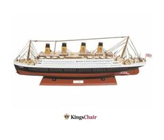 Schiffsmodell Titanic 80