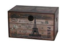 Vintage Truhe Eiffel 78cm