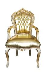 Barock Stuhl gold
