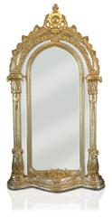 Barockspiegel gross Dom gold
