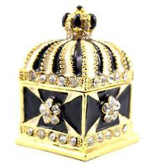 Crowndose mit Kristallen