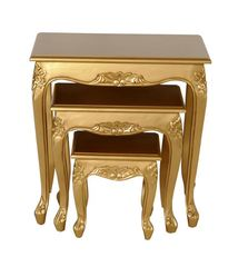Queen Anne Teetischset gold