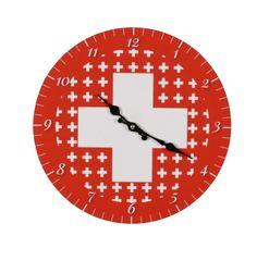 1.August Wanduhr Schweiz