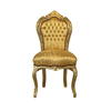 Barock Stuhl gold/gold