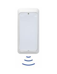 Sensorleuchte, HF EcoStar LED IP65 weiss