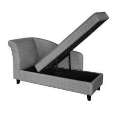 Paris Chaiselongue easy grau