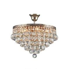 Kristall Lampe Burg 300 gold