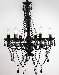 Kristall Lampe 51.5 schwarz