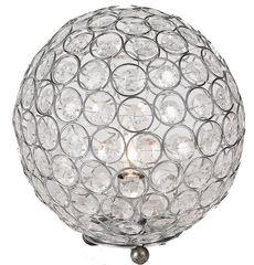 Kristall Lampe Tischleuchte 25 klar