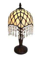 Tiffany Lampe mit Kristall Paris 36cm