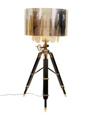 Tripod Stehlampe Exklusiv Kristall