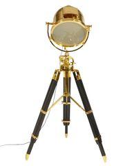 Stehlampe Tripod gold