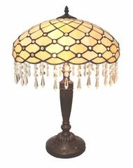 Tiffany Lampe Perlmutt Kristall