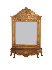 Barock Konsole gross mit Spiegel