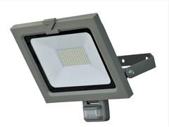 Sensor Strahler ZL 50W Aluminium grau