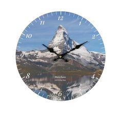 Wanduhr Matterhorn