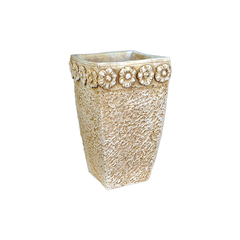 Steinguss Vase Gips Artemis