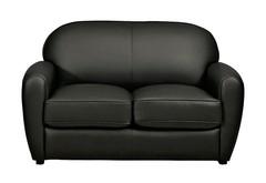 Sofa Cigar 2 Sitzer schwarz