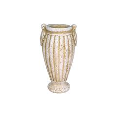 Steinguss Vase Gips Boreas