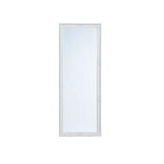 Spiegel Weiss mit Facettenschliff  70 x 185cm