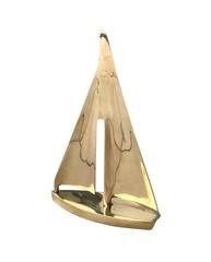 Messing Segelboot